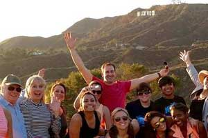 hiking hollywood hihlls